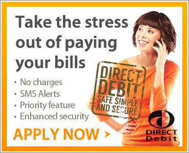 Pay bills with Direct Debits